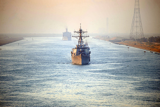Trouble in Egypt Could Raise Shipping Costs Through Suez Canal