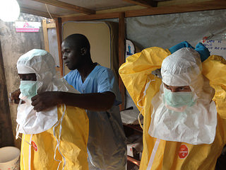 Companies Offer Ebola Solutions Despite Lack of Official Drug Manufacturing